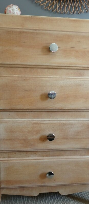 Mini commode annees 60 detail