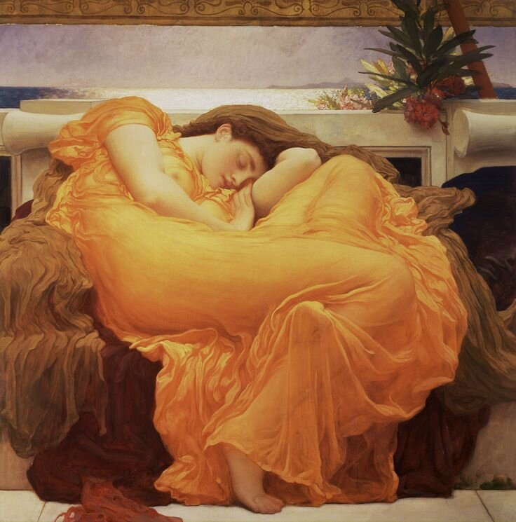 'Leighton's Flaming June' at The Frick Collection