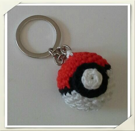 pokeball porte clé