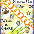 The international charm day!! and give away::