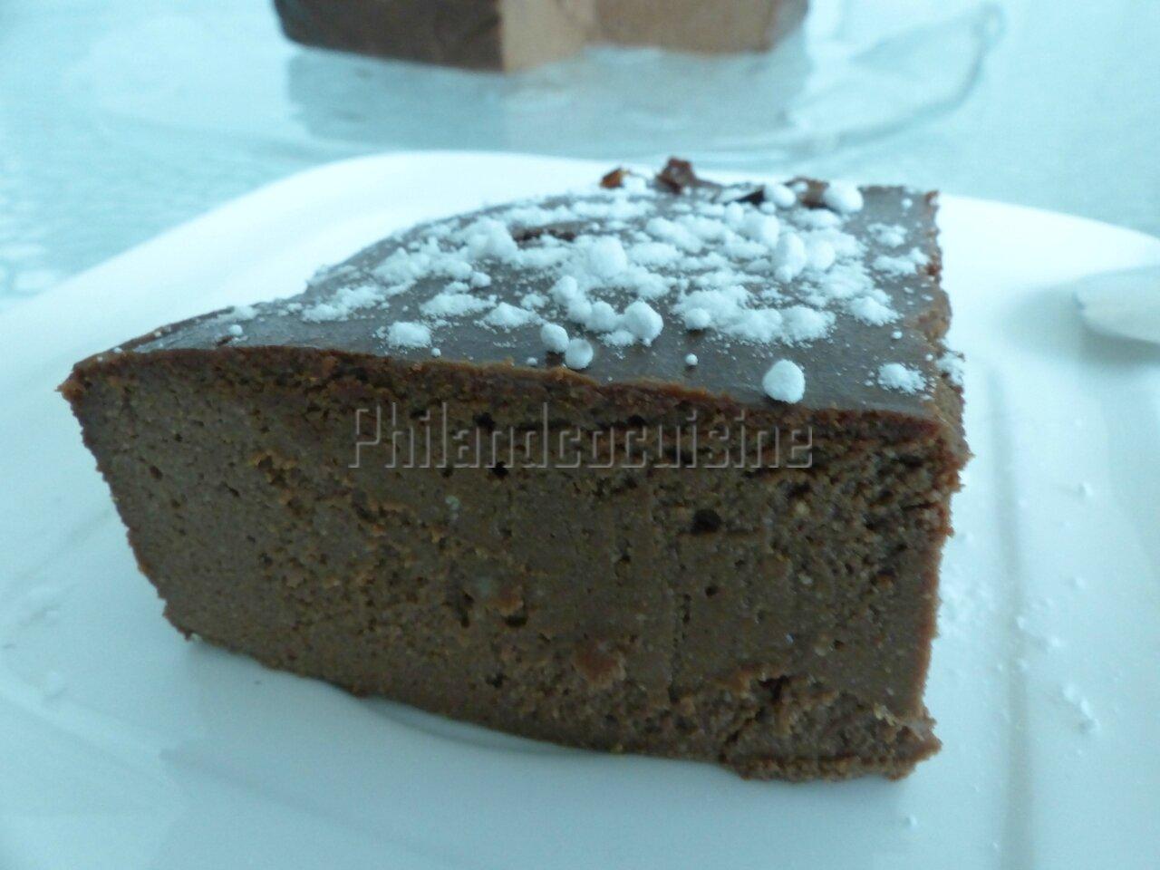 Fondant au chocolat à la ricotta, fort en chocolat et sans gluten !