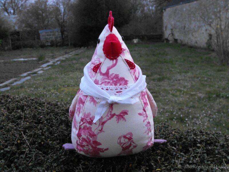 @poule en tissu 2