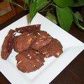 Biscuits chocolat et aux éclats de chocolat blanc!!