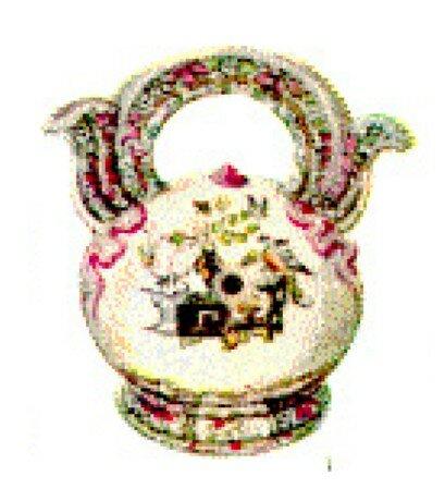 4. Pot à chaux, Angleterre, vers 1840, Copeland & Garrett