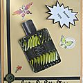 Carte Fête des Pères parfum a