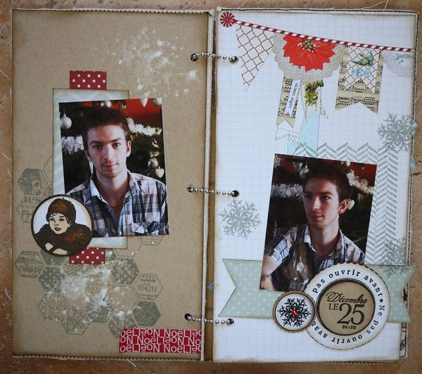 Mini album Scrapbox dcembre 10