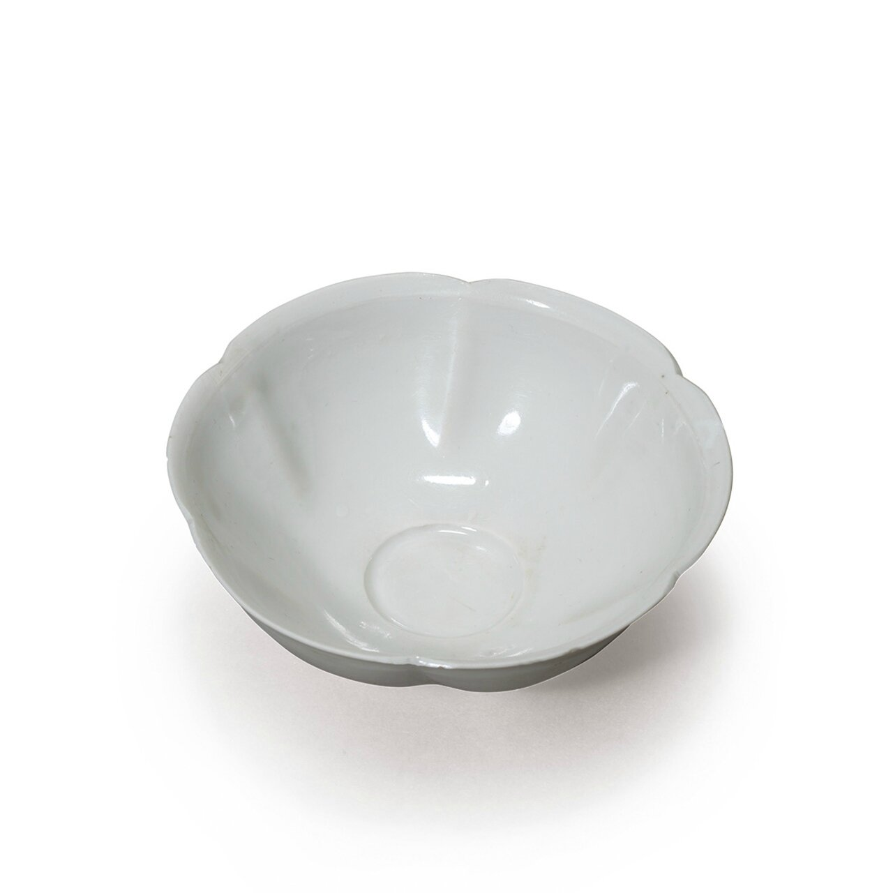 A rare and small Dingyao floral teabowl, Song Dynasty (AD960-1279)