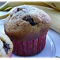 Muffin chocolat & banane