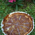 Tarte  loignon comme une pissaladire
