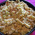 Gratin de pâtes au chou-fleur et à la tuma #1ingrédient et 3 régions italiennes