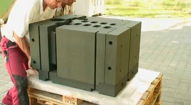 motor block rapid prototyping cast iron casting innovation
