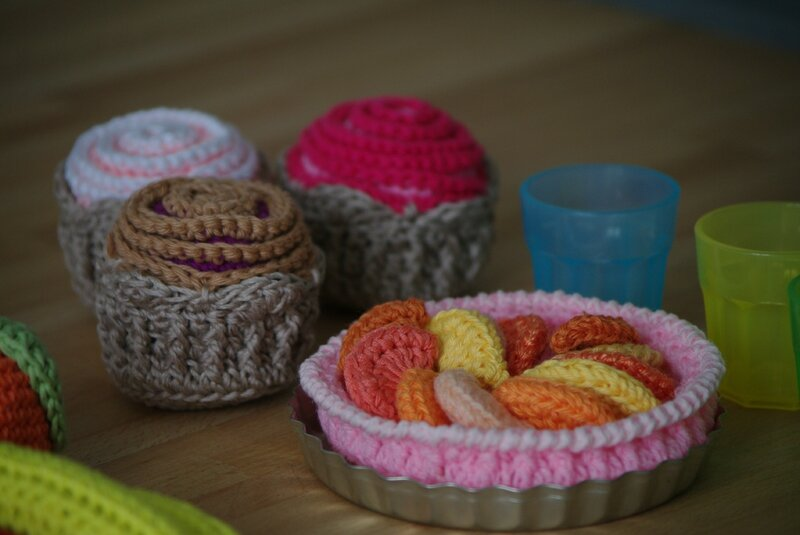 crocheter des patisseries