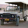 Les Land Rover spéciaux de Namibie