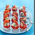 Tomates caramélisées au Morbier