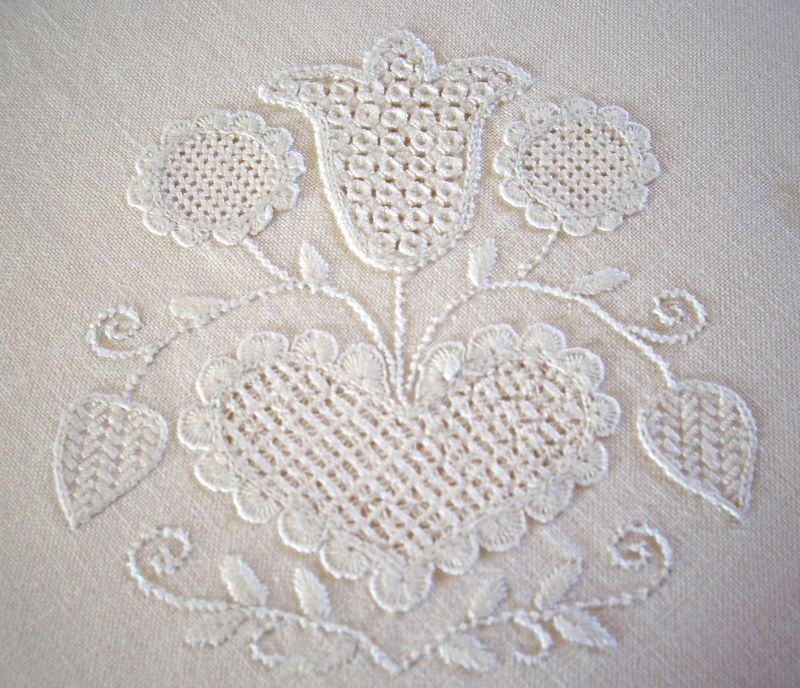 Nappe blanche -