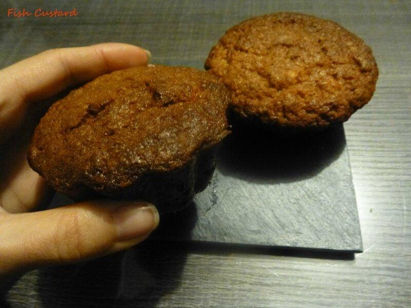 Muffins aux flocons d'avoine et pomme (4)