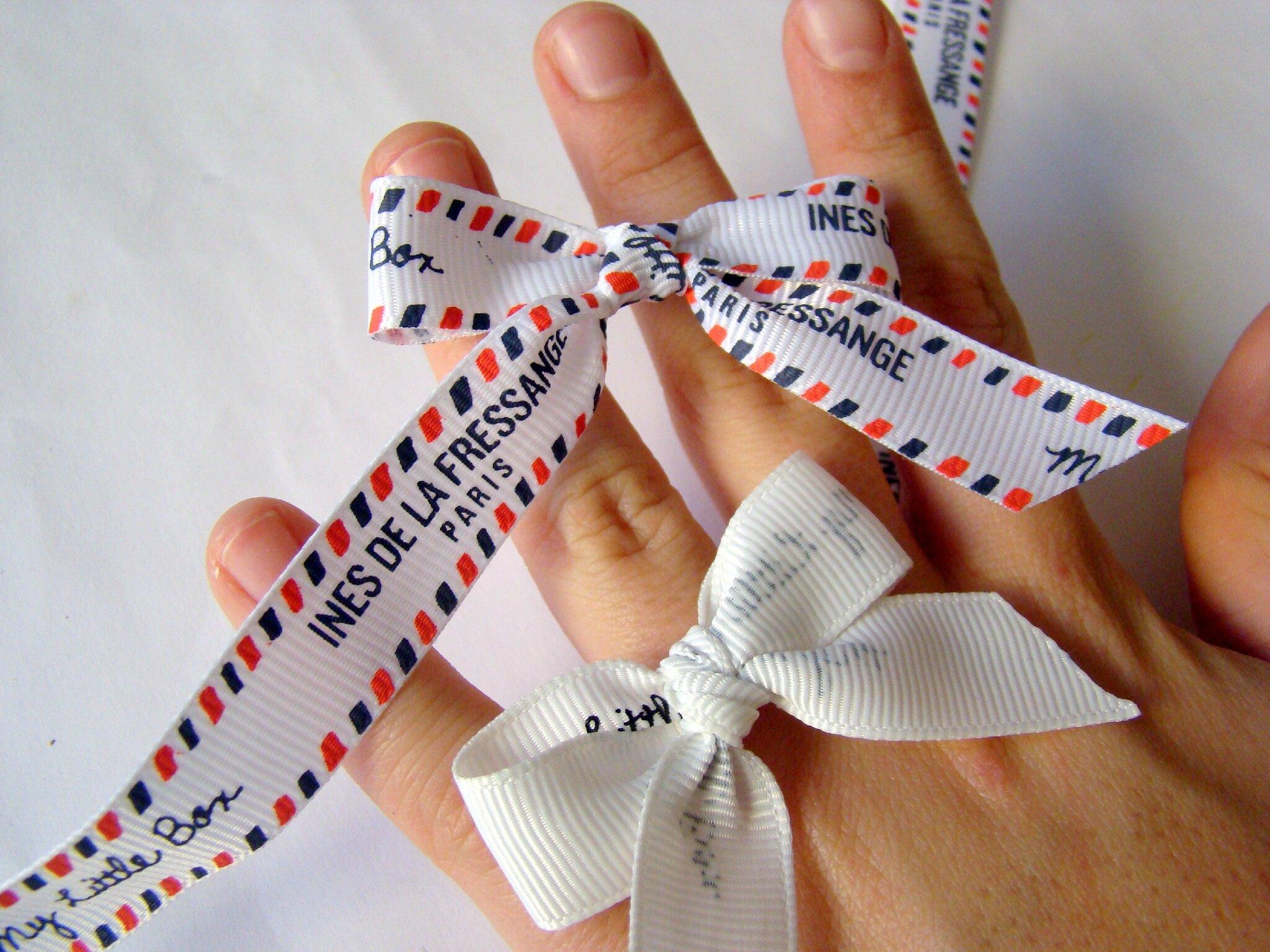 comment faire un noeud avec du ruban