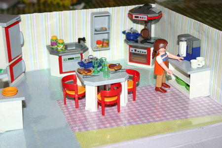 la cuisine playmobil f e de s ve. Black Bedroom Furniture Sets. Home Design Ideas