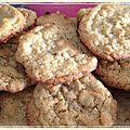 Cookies moelleux aux cacahuètes (sans morceaux)