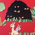 2013 - Ecole Vincent Sery, le loup l'ogre et les sept biquets