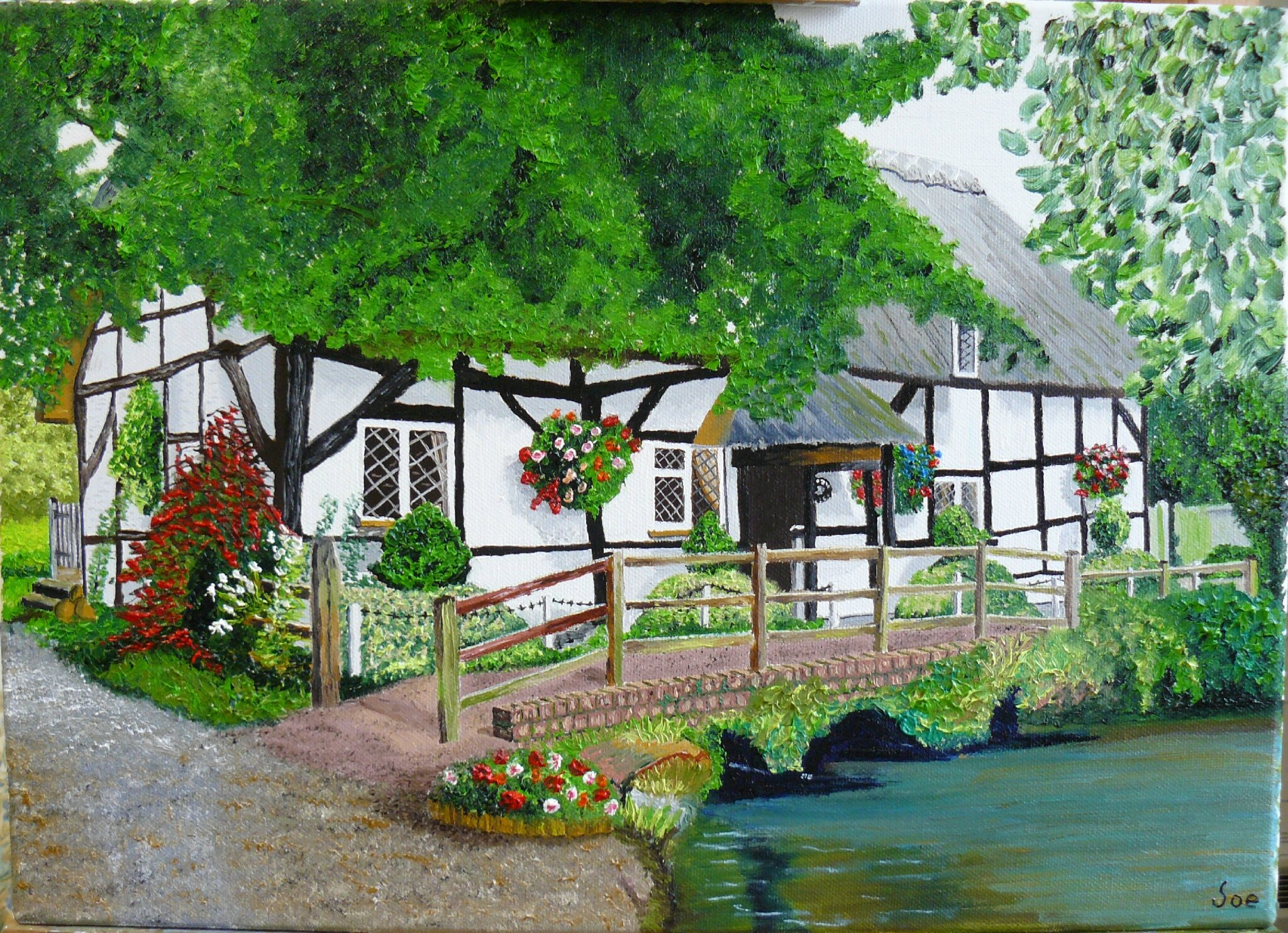 The Cottage Anglaise !