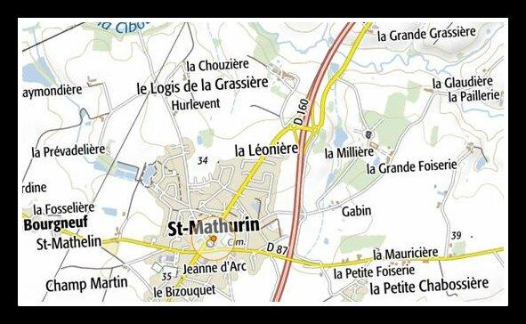 Saint-Mathurin - La Millière