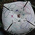 biscornu libellule