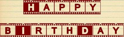 Joyeux anniversaire ciné