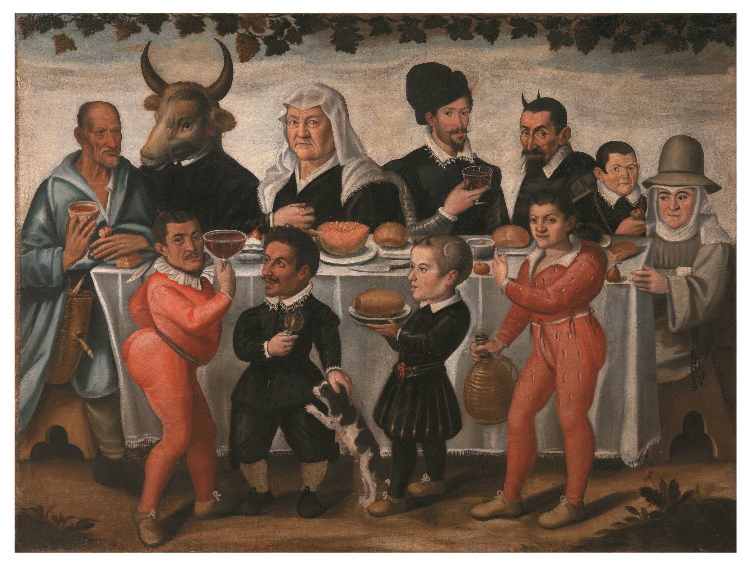 """""""Buffoons, villains, and players at the court of the Medici"""" at Palazzo Pitti, Florence"""