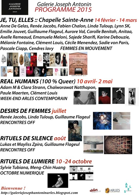 programme 2015 galerie
