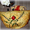 Chausson pizza -calzone