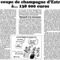 Revue de presse quasi hebdomadaire d'estrosi dans le canard enchainé
