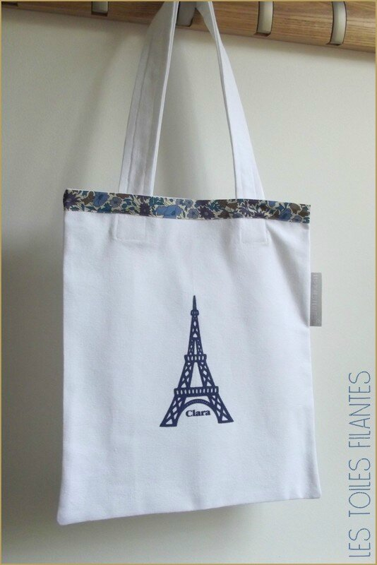 Tote-bag Lisa et Clara