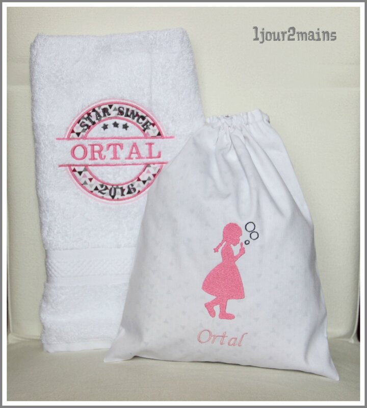 sac+serviette ortal