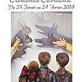 Clémence Caruana - Expo individuelle Médiathèque de VILLEFRANCHE D'ALBIGEOIS Janvier 2015
