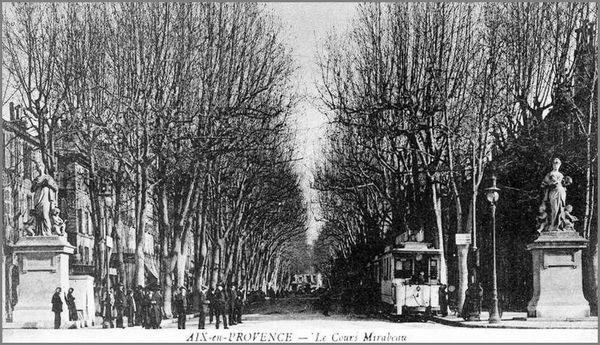 tram aix 1903 bas du cours