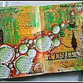 21ème page d'art journal
