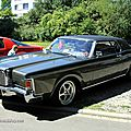 Lincoln continental Mark III de 1971 (RegioMotoClassica 2011) 01