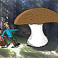 Les champi-pi-pi champignons de paris...(chanson célèbre)