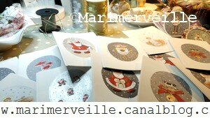 work in progress créations pour Noël 2 Marimerveille