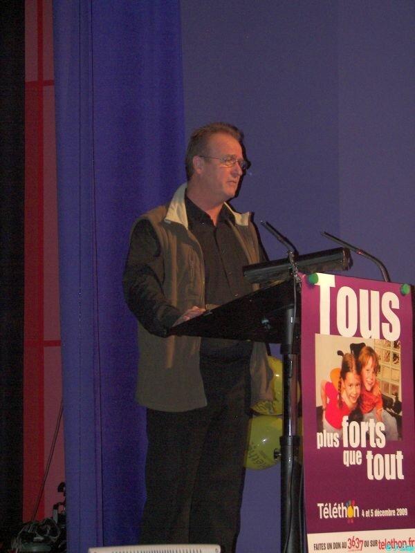 Régis Brachet, coordinateur TELETHON Sapeurs-Pompiers 85