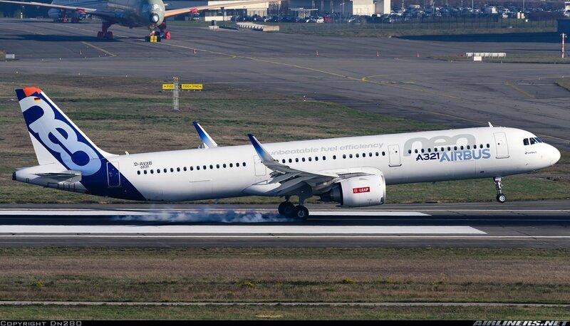 SIAE LFPB 2017 10 AIRBUS A321-251N D-AVXB MSN 6839