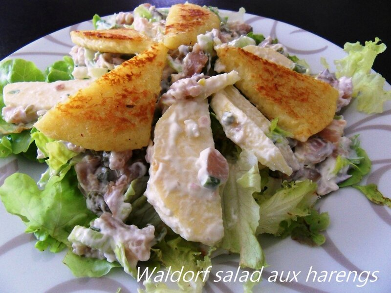 waldorf salad aux harengs1