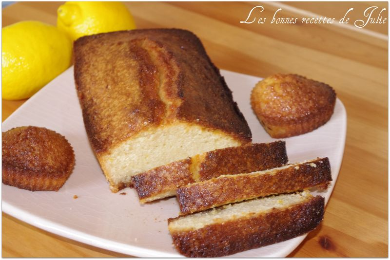 Cake au citron [lemon cake]