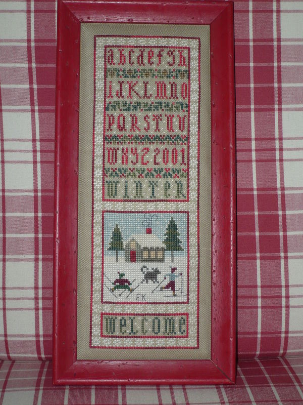 Welcome Winter -Drawn Thread 2001