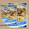 Ptes artichaut pancetta & parmesan