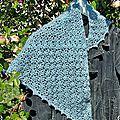 Elise shawl - foulard au crochet