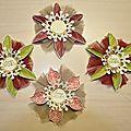 Atelier etoile de noël à la mjc la vancelle du 16 octobre 2012 !
