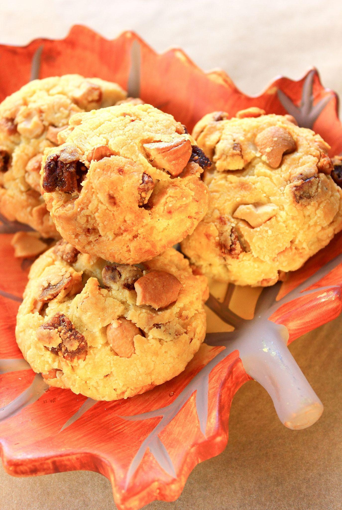 Cookies parmesan, figues et noux de cajou7