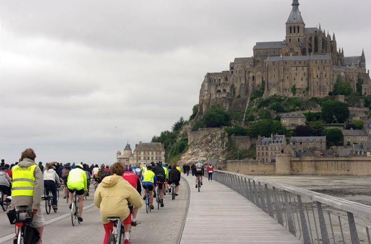 la 6ème édition de la Convergence vélo en baie du Mont-Saint-Michel 2015 - bilan et perspectives